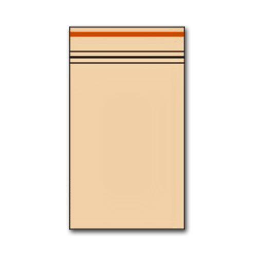 Zip Beutel 40 x 60mm Orange