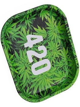 "Metall Drehunterlage ""green 420"" small"