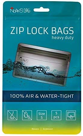 Noaks Bag | ZIP Beutel | Größe S - 5 Stück