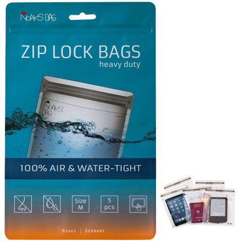 Noaks Bag | ZIP Beutel | Größe M - 5 Stück