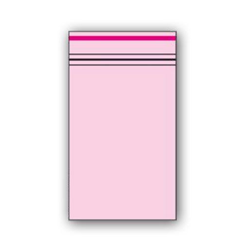 Zip Beutel 40 x 60mm Rosa