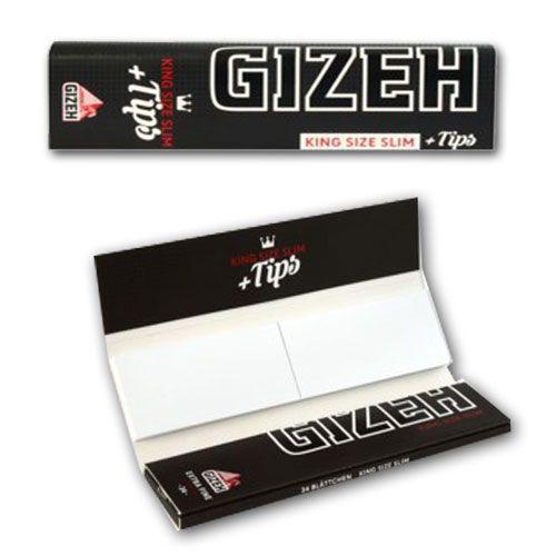 Gizeh Extra KS Slim Papier + Tip