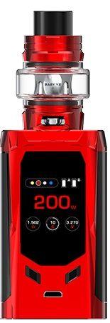R - Kiss Smok E-Zigaretten Set - Rot, schwarz
