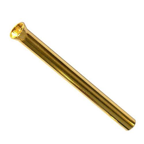 Ziehröhrchen aus Messing, gold