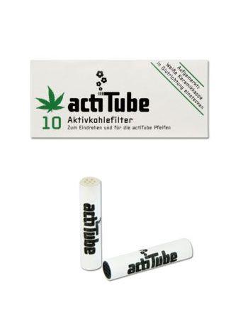 actiTube Aktivkohlefilter 10 Filter