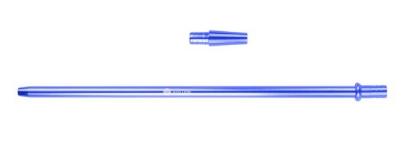 Mata Leon Mundstück aus Aluminium, Blau