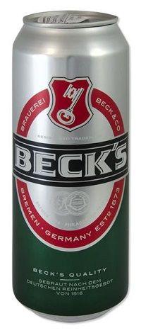 Versteckdosen, Becks Bier