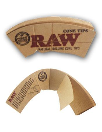 Raw Cone Shaped Tips