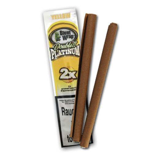 Blunt Wrap Platinum Yellow, 2er