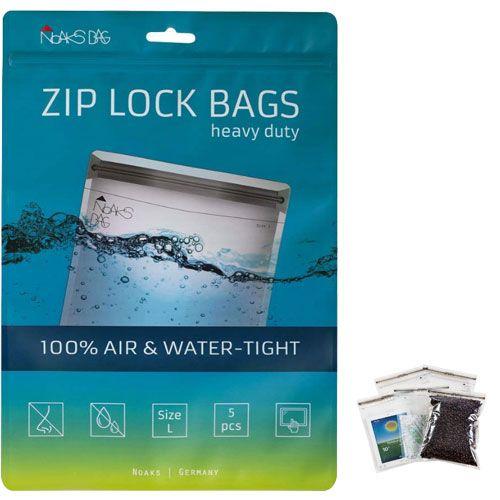 Noaks Bag | ZIP Beutel | Größe L - 5 Stück