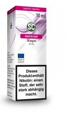 SC Nikotin Shot 50PG/50VG 18 mg, 10ml