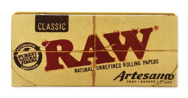 RAW Classic Artesano King Size Slim Papier + Filtertips