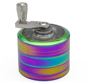 Kurbelgrinder Rainbow 4 - Teilig