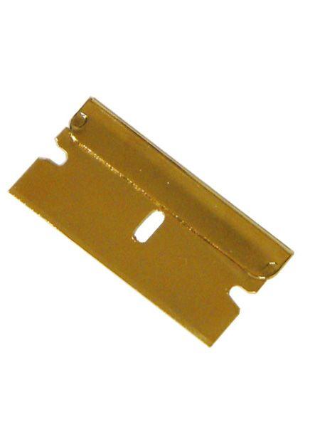 Klinge in Gold, Länge- 40mm