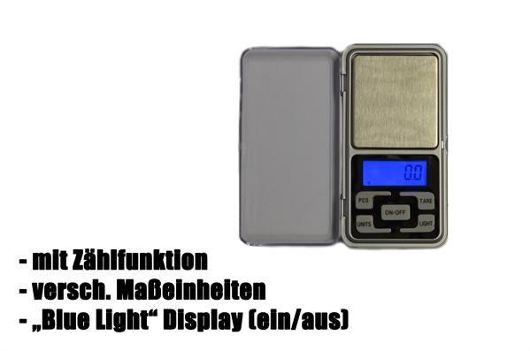 Digitale Taschenwaage 500g Einteilung 0,1g