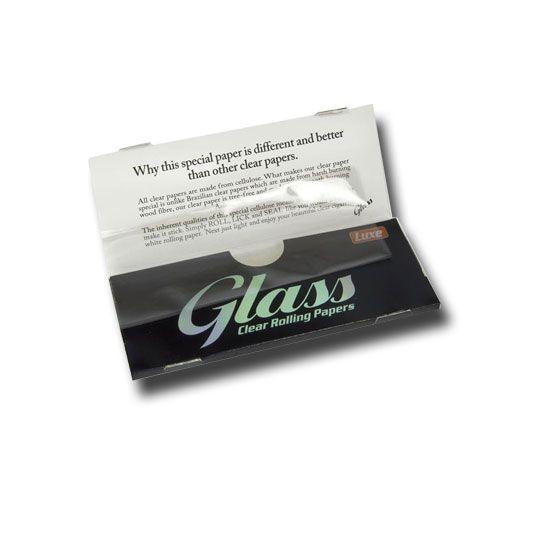 GLASS Clear transparentes Papier