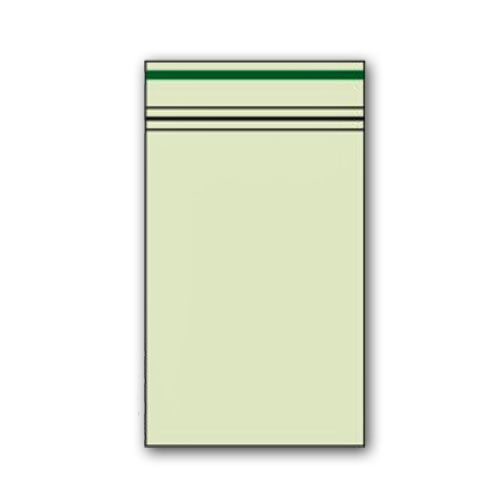 Zip Beutel 40 x 60mm Grün
