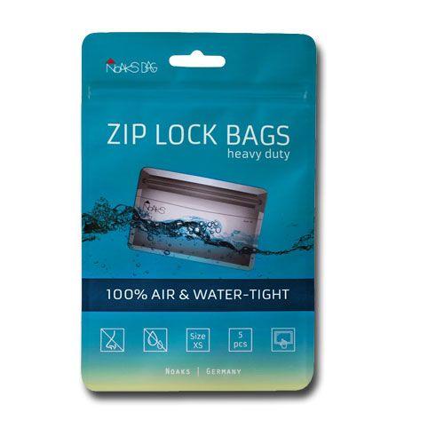 Noaks Bag | ZIP Beutel - Größe XS - 5 Stück