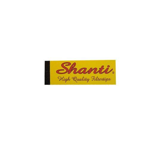 Shanti Filtertips 2 x 6cm, schmal