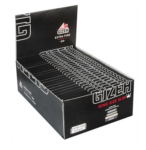 Gizeh King Size Slim Papier -34- 50er Box