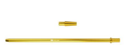 Mata Leon Mundstück aus Aluminium, Gold