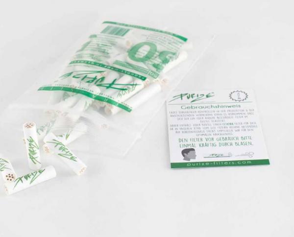 PURIZE® XTRA Slim Size Aktivkohlefilter- 50er