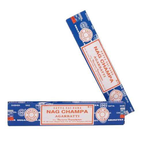 """Originale Indische Räucherstäbchen """"Nag Champa"""" 15g"""