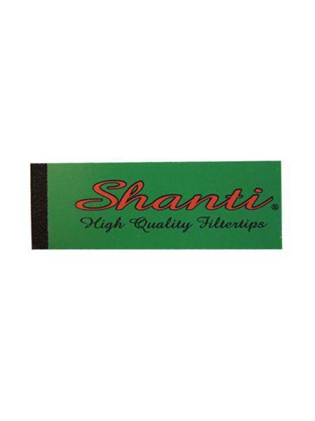 Shanti Filtertips 2 x 6cm, perforiert, schmal
