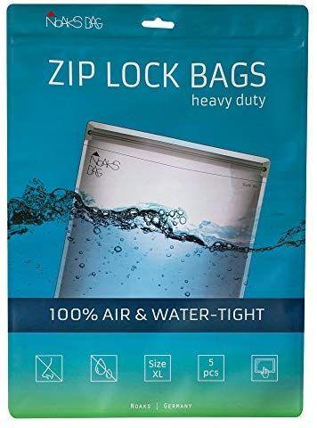 Noaks Bag | ZIP Beutel | Größe XL - 5 Stück