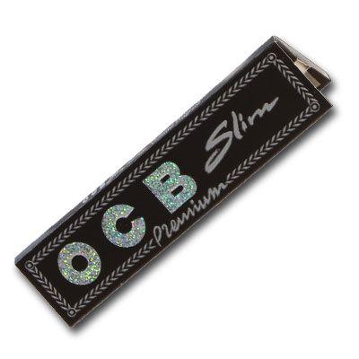 Ocb schwarz premium long slim, Blättchen