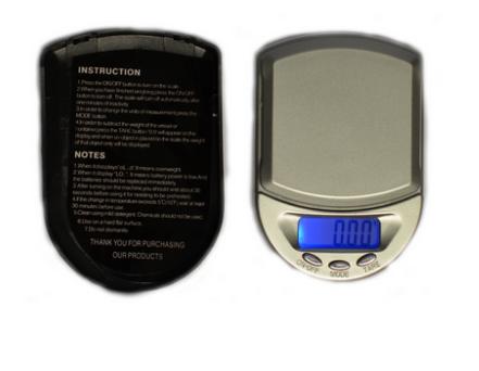 Shanti Digitale Taschenwaage bis 100g mit 0,01g