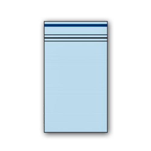 Zip Beutel 40 x 60mm Blau