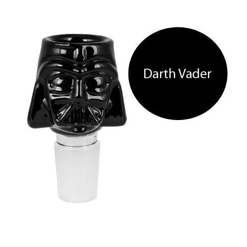 Bongkopf Darth Vader (14,5 Schliff)